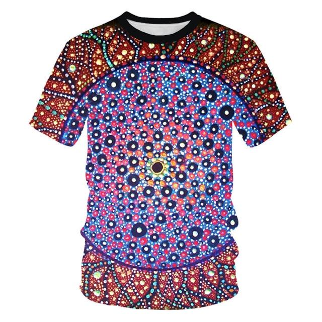 Мужская футболка с 3D принтом, новинка, брендовая футболка с коротким рукавом, Мужская забавная футболка в стиле Харадзюку, облегающая футболка в стиле хип-хоп, уличная футболка, Homme - Цвет: NT-104