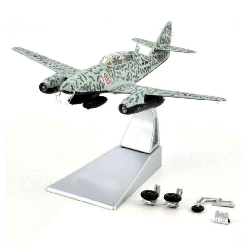 Fine  1/72  German Me 262b-1a / U1 Me 262 Fighter Model A35709  Alloy Collection Model
