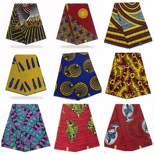Veritable Veritable guaranteed real dutch wax high quality pagne 