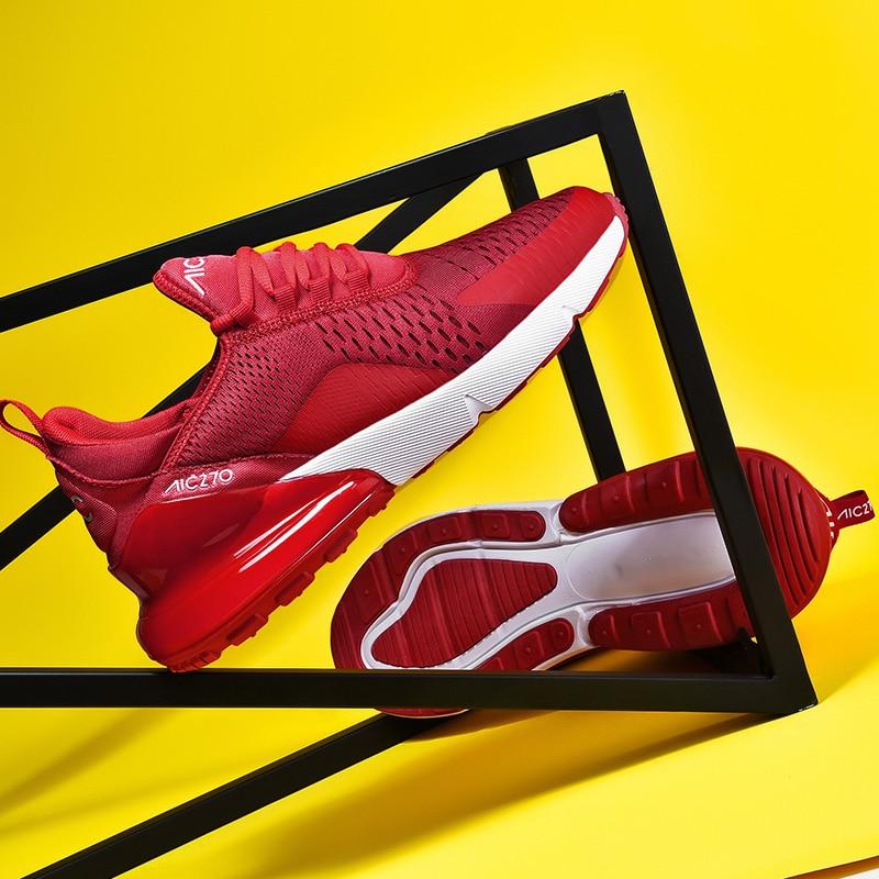 Новое поступление, фирменный дизайн, мужские кроссовки для бега с воздушной подушкой, дышащие женские кроссовки, Модные женские спортивные кроссовки для бега