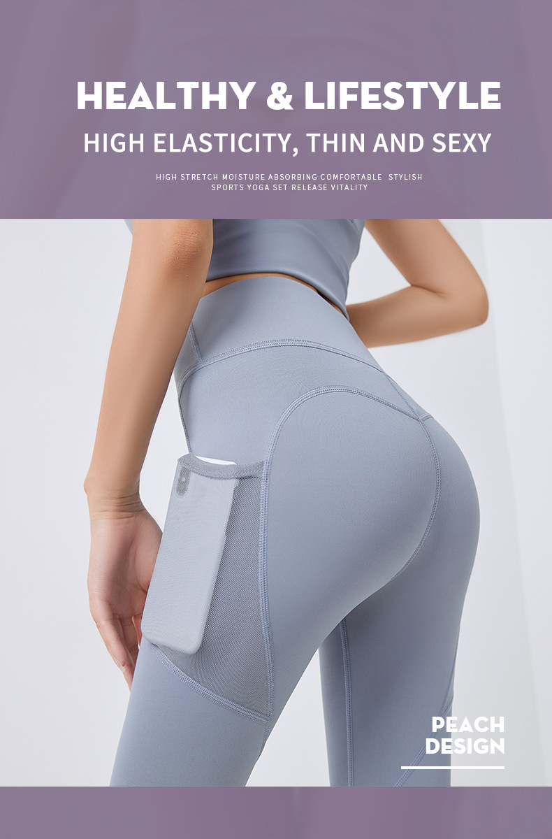 Yoga Set Leggings And Tops Fitness Sports Suits