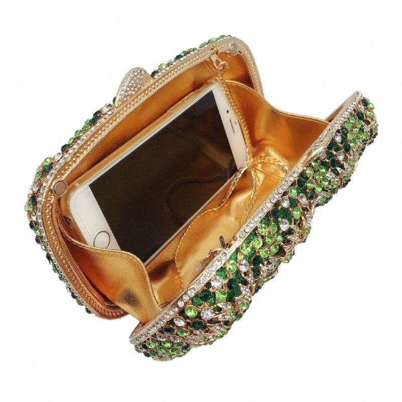 de cristal luxo caixa de metal clássico