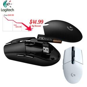 Image 1 - ロジクール G304 E スポーツゲームワイヤレスマウスの Usb レシーバー 12000dpi デスクトップラップトップ Pc オリジナルポータブルゲーミングマウス G102
