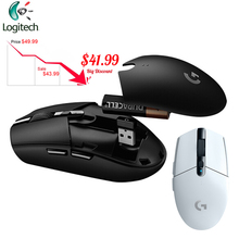 Logitech G304 Esports משחק אלחוטי עכבר עם USB מקלט 12000dpi מחשב מחשב מקורי נייד משחקי עכברים G102