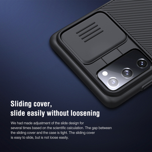 Image 3 - NILLKIN Slide Camera Lens Protection Cases For Samsung S20 FE S21 Ultra Plus Note 20 Ultra A51 A71 M31S M51 Slide Protect Cover