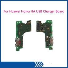 Usb разъем зарядное устройство плата для huawei honor 8a модуль