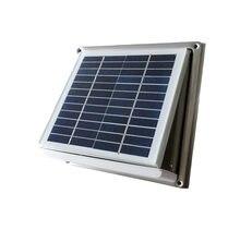 Нержавеющая сталь Солнечный настенный вентилятор вытяжка 68cfm