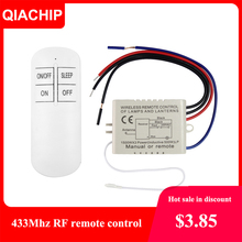 QIACHIP 1/2/3 طريقة التتابع التيار المتناوب 220 فولت RF عن بعد الرقمية اللاسلكية التحكم عن بعد التبديل مروحة سقف لوحة التحكم التبديل للضوء لمبة