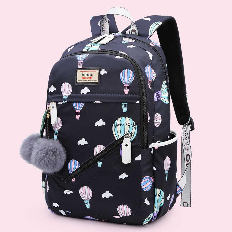 Mode Afdrukken Tienermeisjes Kinderen Student Schooltas Hoge Capaciteit Vrouwen Rugzak Reistas Laptop Pack Rugzakken 2020