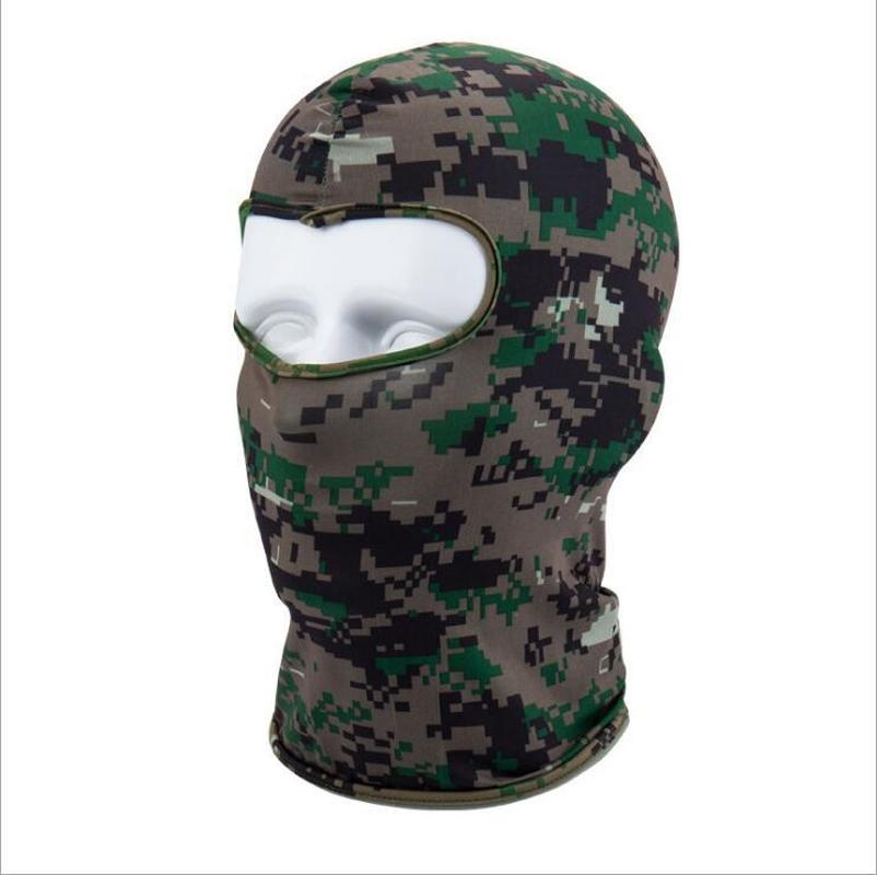 Motorcycle Face Mask Outdoor Sports Neck Face Mask Winter Warm Ski Snowboard Wind Cap Police Cycling Balaclavas Face Mask