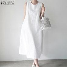 Платье zanzea женское без рукавов длинное плявечерние ное вечернее