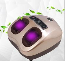 New Electric Shiatsu Foot Massager Kneading Air Pressure Massage Foot Therapy Machine Heating Health Care Feet Relax electric antistress therapy rollers shiatsu kneading foot legs arms massager vibrator foot massage machine foot care device new