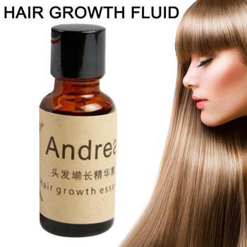 Andrea Hair Growth Serum Oil Herbal Keratin Fast Hair Growth Alopecia Loss Liquid Ginger Sunburst Yuda Pilatory Oil 1