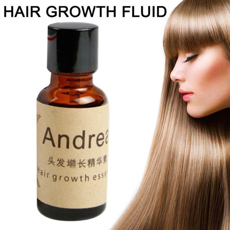Andrea Hair Growth Serum Oil Herbal Keratin Fast Hair Growth Alopecia Loss Liquid Ginger Sunburst Yuda Pilatory Oil