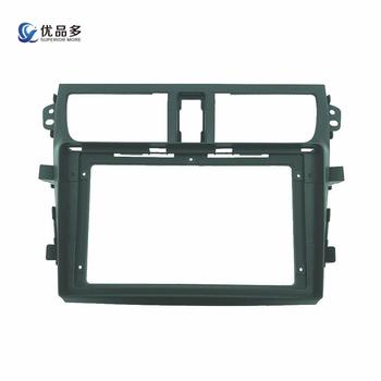 2din Car Radio installation DVD GPS mp5 Plastic Fascia Panel frame for SUZUKI Alto/Celerio/CULTUS 2014 Dash Mount Kit image