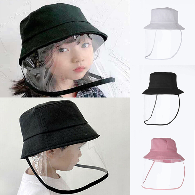 Kids Anti C19 Masks For Boys Girls with Hat dust-proof Anti Flu Baby Mask Outdoor Toddler Safety Protective mask D35 5