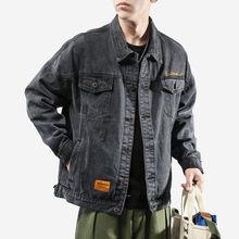 2020 men's denim jacket loose denim jacket men's clothing Ko