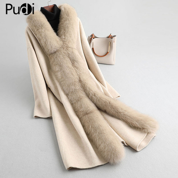 women real fur coat jacket winter warm wool blends with REX rabbit fur lining mink fur collar female overcoats A59779 kids real mink fur coat baby winter warm colourful mink fur coat child mink fur clothes kids warm jacket