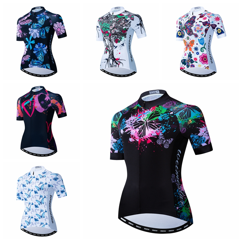 Mens Cycling Jersey Half Sleeves Breathable Team Racing Bicycle Shirt Biking Top