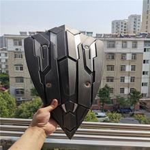 1 1 superbohaterowie tarcza Prop bronie do Cosplay kapitan ameryka Iron Man Batman Thor wspaniałe rekwizyty 54CM PU zabawka figurka prezent tanie tanio Z tworzywa sztucznego