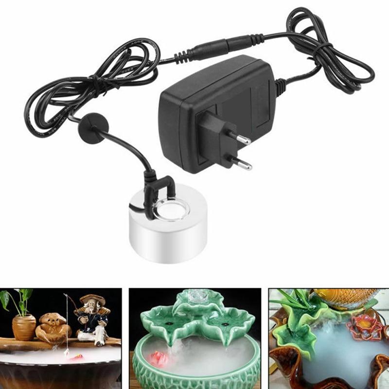 Ultrasonic Mist Maker Pond Atomizer Air Humidifier Fogger Water Fountain