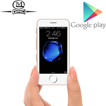 Soutien Google jouer petit mini téléphone portable Android 6.0 MT6580 Quad Core déverrouiller 3G 4G Smartphone Melrose S9 L3 téléphone portable