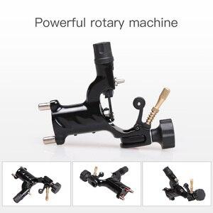 Image 2 - Principiante Tattoo Kit 2 Macchine Macchina Rotativa Set LCD Power Supply Aghi Grips Accessori