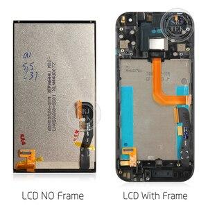 """Image 3 - 100% تم اختبارها 4.5 """"ل HTC One Mini 2 M8 Mini LCD تعمل باللمس مع الإطار ل HTC One Mini 2 M8 Mini عرض محول الأرقام الجمعية"""