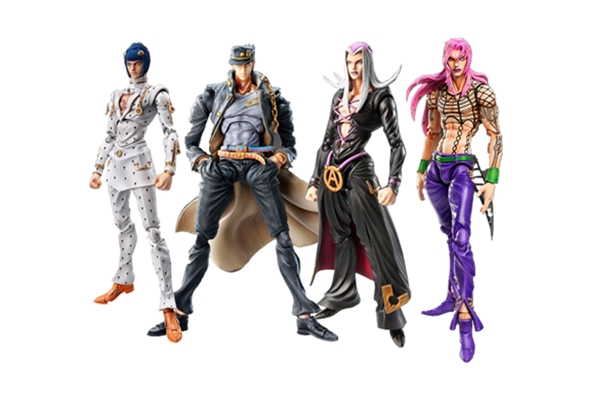 JOJOs Fancy Adventure Ballpoint Bizarre Bruno Bucciarati Kujo Jotaro Leone Abbacchio Action Figure PVC Model Toy Gift Collection
