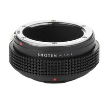 Shoten Lens Adapter Ring for Nikon F D Ai Ais to Fuji X X T3 X Pro2 X A2 camera