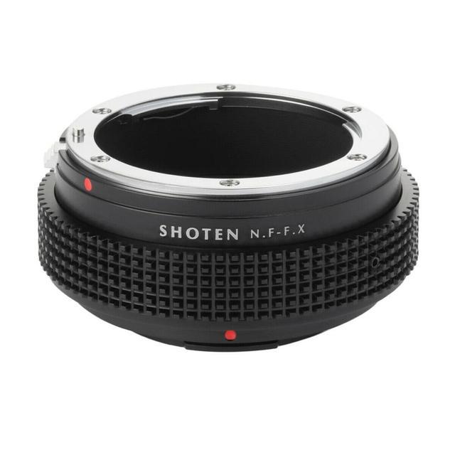 Shoten 렌즈 어댑터 링 nikon f d ai ais to fuji x X T3 X Pro2 X A2 카메라