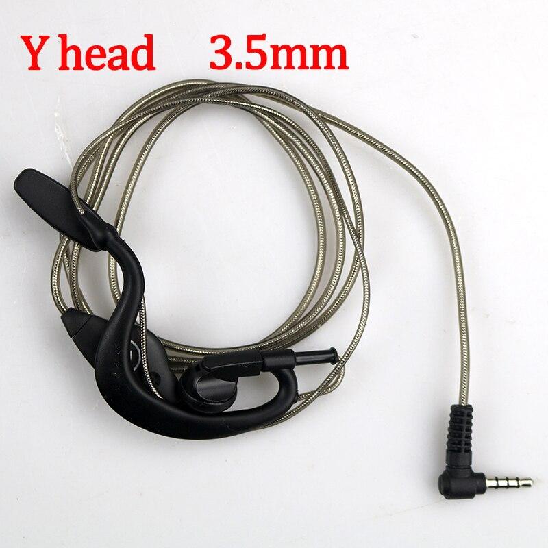 PTT Mic Earpiece Walkie Talkie Headset For Baofeng UV-5R UV-82 BF-888S HF-3A MOTOROLA 328 Portable Radio MINI Walkie Talkie