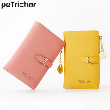 Luxury Leather Short Women Wallet Many Department Ladies Sma