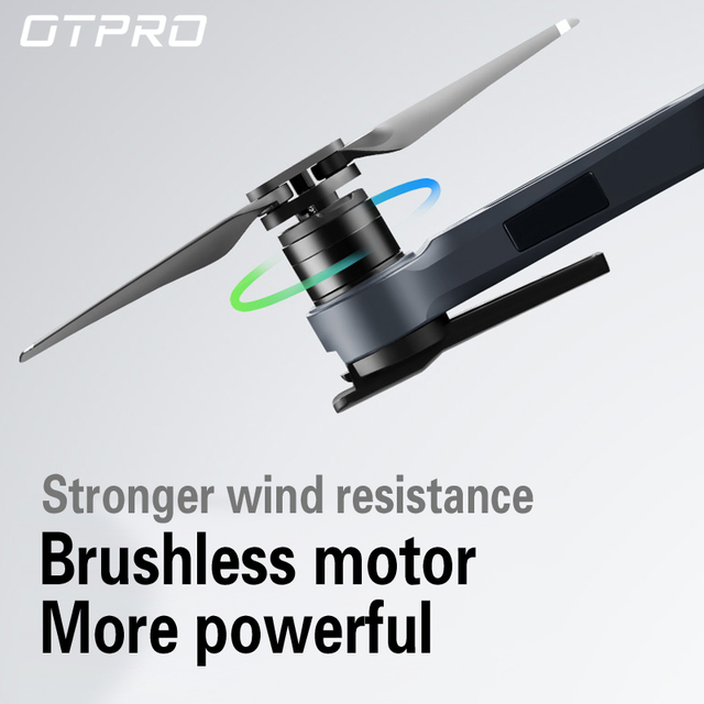OTPRO GPS RC Quadcopter 4H HD WIFI MINI Drone FVP camera Motor Brushless A birthday present BOY toys gift professional DRON