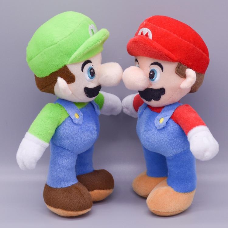 25cm Super Mario Plush Doll Mario Bros Dinosaur Game Anime Characters Plush Toy Decoration Game Peripheral Doll Birthday Gifts