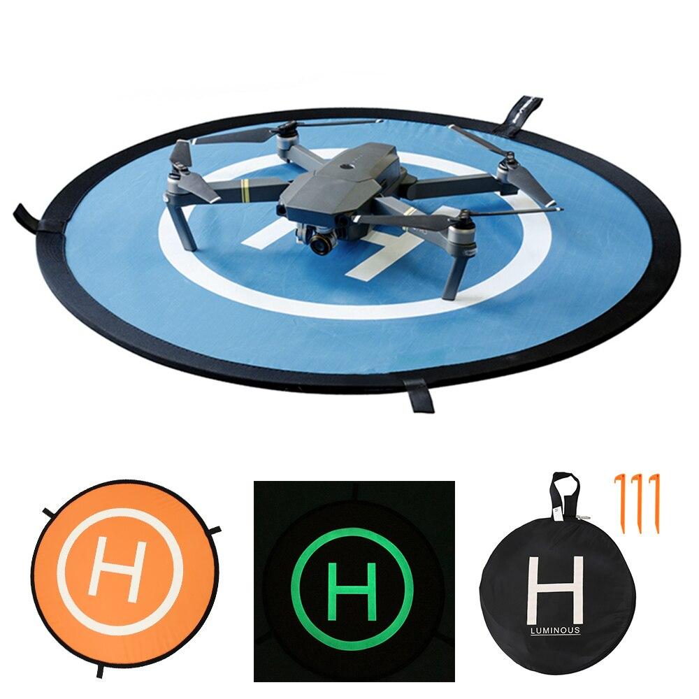 110cm Easy-fold Landing Pad Universal FPV Drone Parking Apron Pad For DJI Spark Mavic Pro Drone Phantom 4 Landing-Set