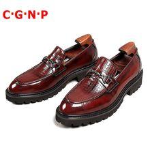 C · г н p Новые итальянские Стиль из натуральной кожи; Обувь