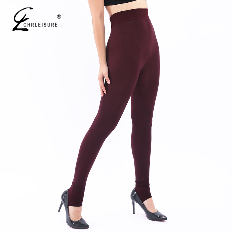 Women's Plus Velvet Warm Leggings 2019 New Large Size High Waist Purh Up Legging Solid Jeggings Feamle