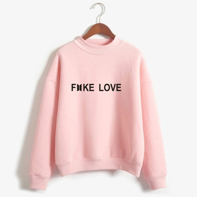 BTS FAKE LOVE SWEATSHIRT (25 VARIAN)