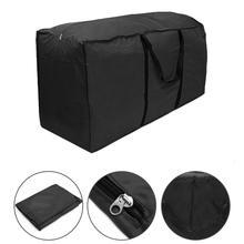Big Outdoor Furniture Cushion Storage Bag Home Multi-Function Waterproof Cover Christmas Tree Sundries Finishing Organizer Bag