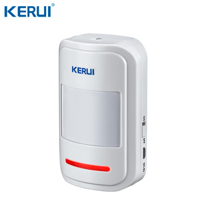 Image 3 - KERUI W18 WIFI GSM SMS Home Burglar Security Alarm System Curtain Motion Sensor Wireless Solar Siren IP Camera GSM Alarm System