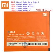Batterie BM45 BM20 BM41 BM42 BM44 pour Xiaomi Redmi Note 2/Redmi Note 1/Redmi 1S/Redmi 2/Mi2S Mi 2 accumulateur Batterij