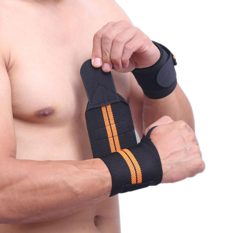 1 Piece Adjustable Wrist Band Hand Protection Wraps Powerlifting Bodybuilding Bandage Breathable Wrist Support High Quality