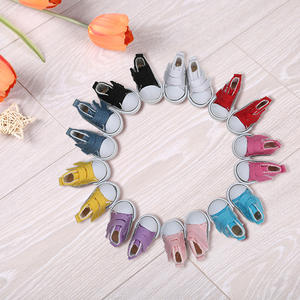 5cm Doll Canvas Shoes Denim Doll Toy seakers Footwear Sports Tennis Shoes Children Gift Toys