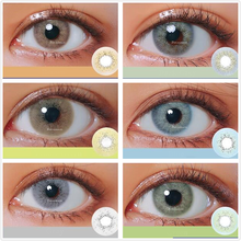 2 шт ocean серии Цвет ed контактные линзы для глаз год Применение