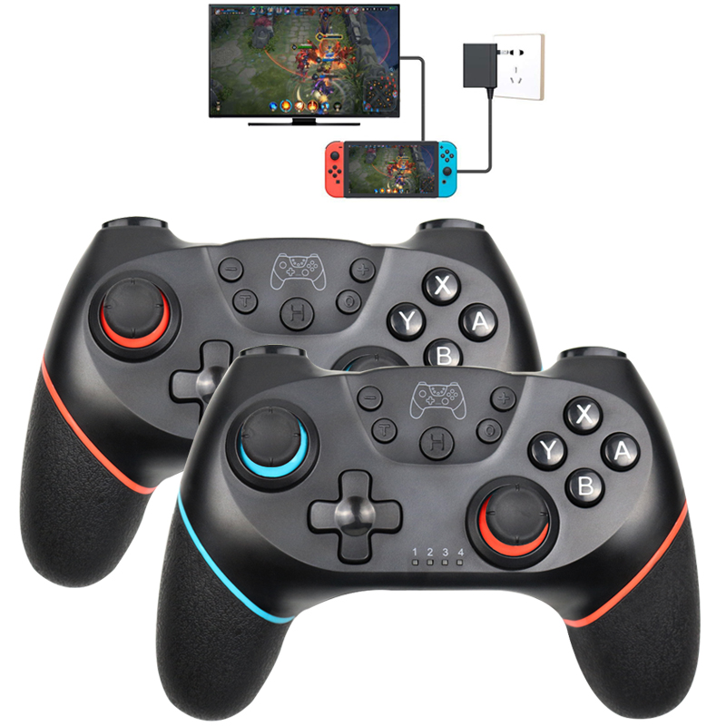 Bluetooth Wireless Pro Controller Remote Gamepad For Nintend Switch Pro Console For NS For PC Controle Joystick(China)