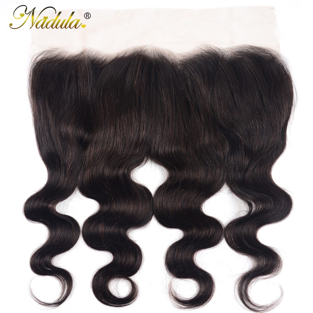 Nadula Hair 13X4 ear to ear Lace Frontal Closure  Body Wave  Frontal Free Part With Baby Hair  Hair 1