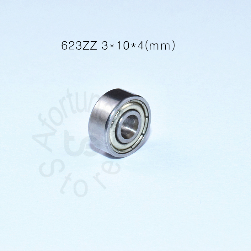 623 623Z 623ZZ 3*10*4(mm) 10pieces  Bearing ABEC-5 Chrome Steel Bearings 10pcs Metal Sealed Miniature Mini Bearing Free Shipping