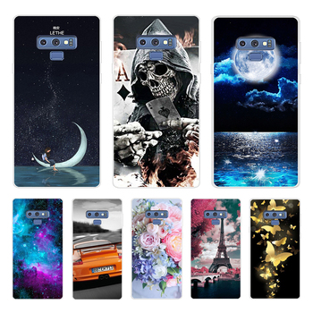 For Samsung Galaxy Note 9 Phone Case Soft Silicon TPU Capa For Samsung Note9 Transparent Cover celular 6.4 Coque Bumper image