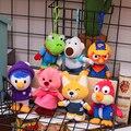 Корейский родитель, Детский развивающий мультяшный персонаж, поворон, пингвин, Лулу, плюшевая игрушка, подарок, Детская кукла 25 см
